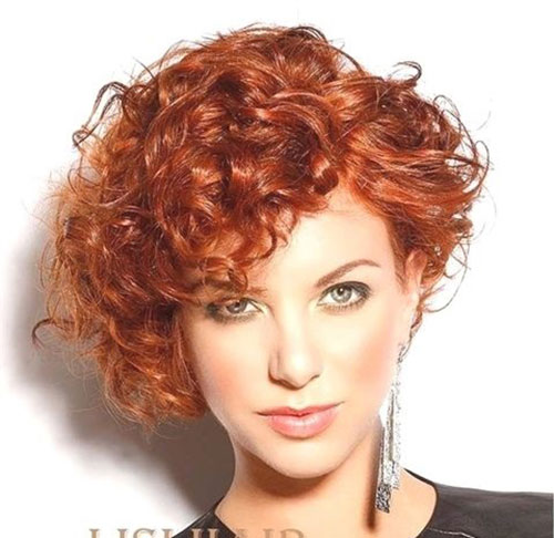 Short Curly Haircuts 2019-26