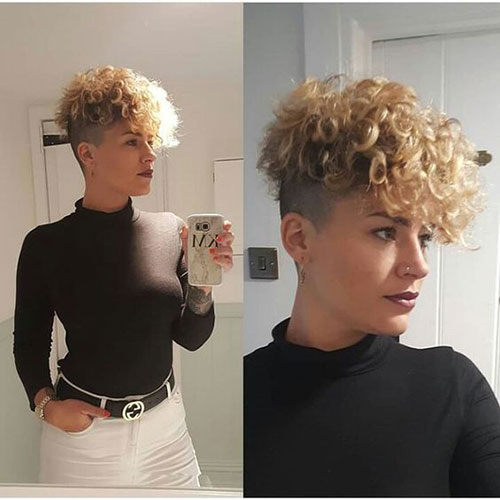 Short Curly Haircuts 2019-29