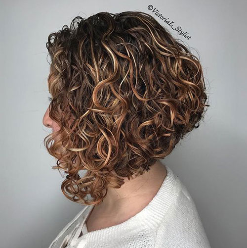Short Curly Haircuts 2019-34