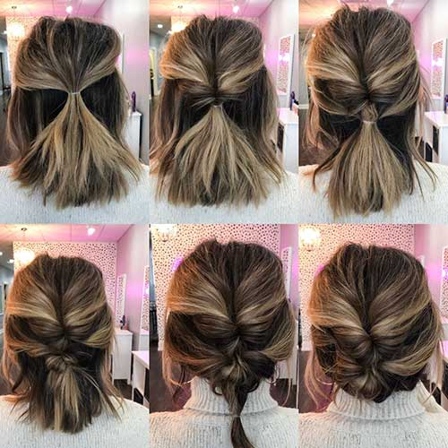 Cute Easy Hairstyles For Short Hair