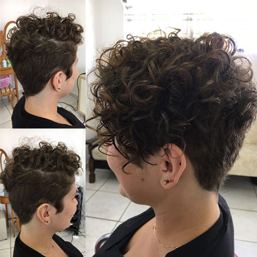 Short Curly Haircuts 2019-40