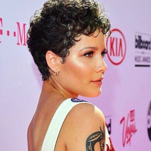 Short Natural Curly Haircuts 2019-8