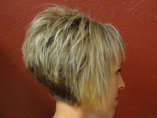 Choppy Layered Short Stacked Hairstyles-10