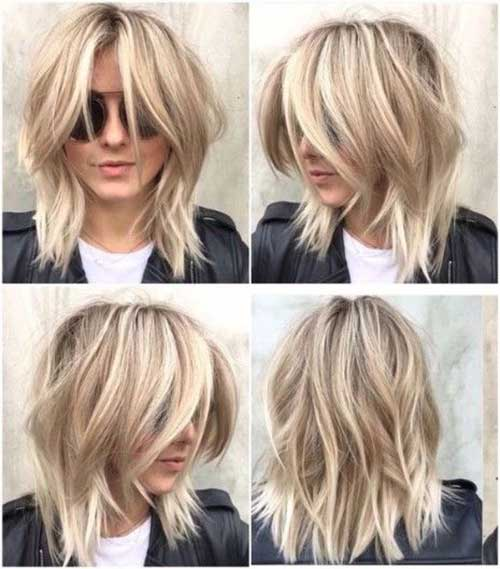 Layered Hairstyles for Round Faces-11