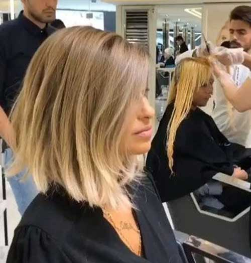 Blonde Long Bob Haircuts for Women-12