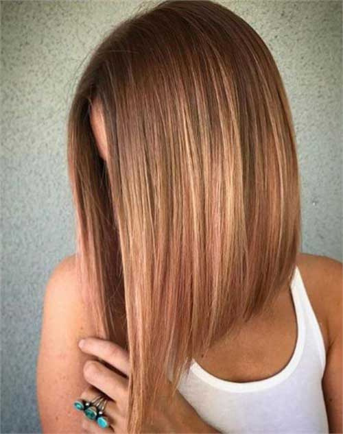 Blonde Long Bob Haircuts for Women-13