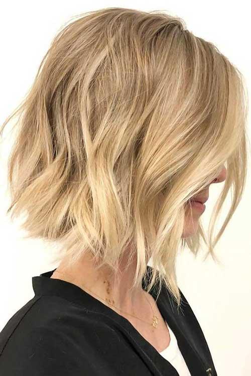 13.Short Haircut for Thin Hair