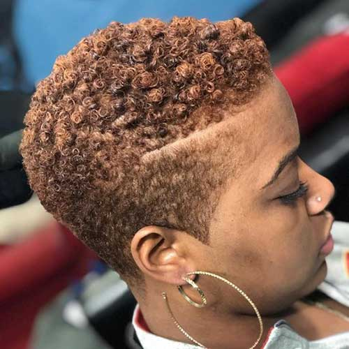 20 Short Natural Hairstyles For Black Women Short Hairstyles Haircuts 2019 2020
