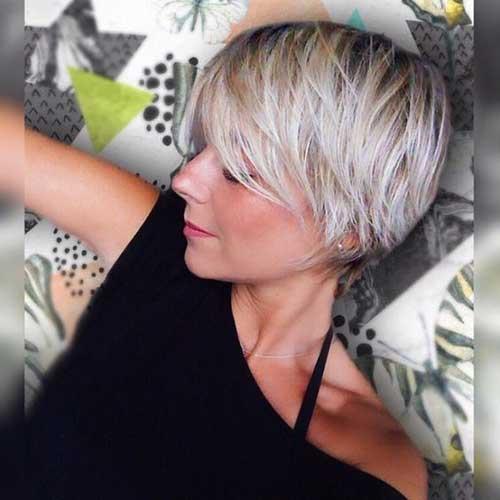Best Short Haircuts for Thin Hair-17