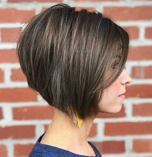 Short Haircuts for Women with Thick Hair-20