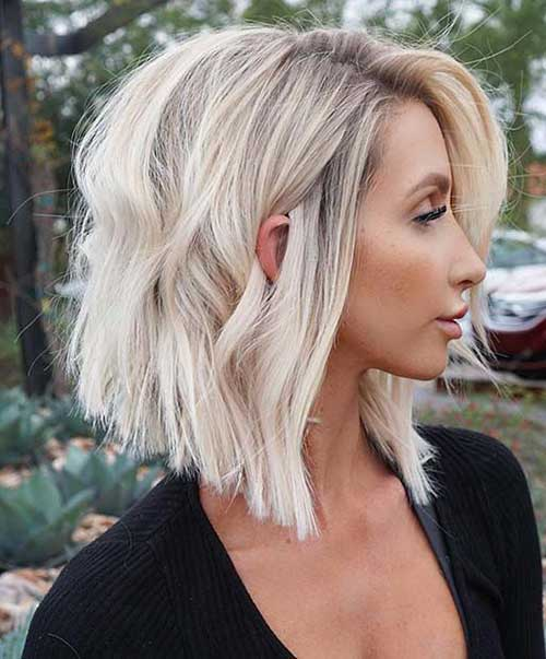 Blonde Long Bob Haircuts for Women-23