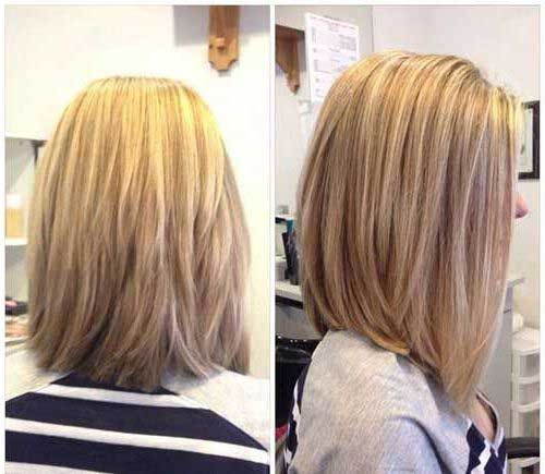 Blonde Long Bob Haircuts for Women-6