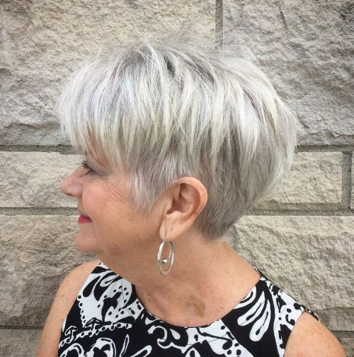 Best Fine Short Haircuts for Women Over 50-6