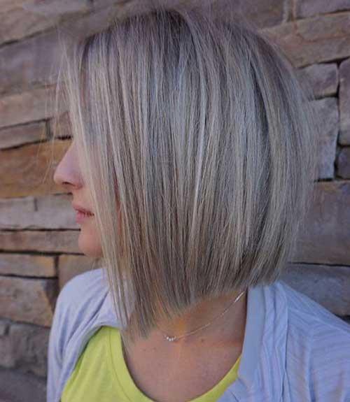 Best Blonde Short Haircuts for Thin Hair-7