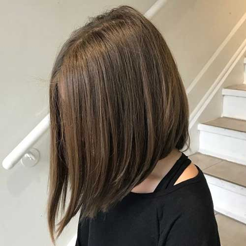 Cute Long Inverted Bob Hairstyles-7