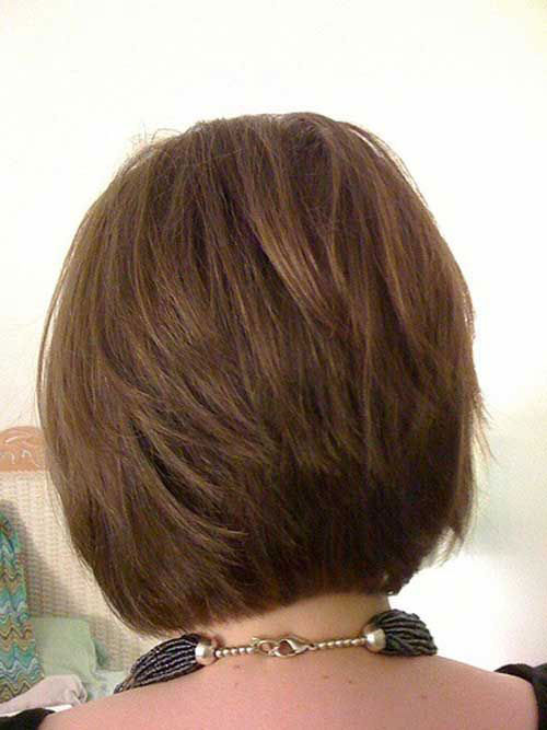 Short Stacked Hairstyles Thick Layers-7