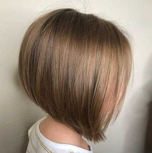 Cute Fine Straight Bob Hairstyles-8