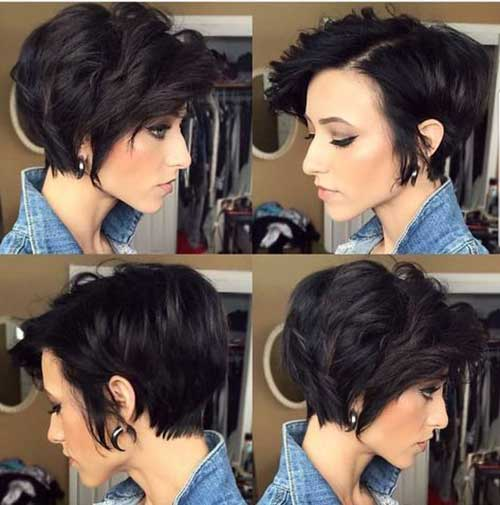 Long Pixie Bob Cut Hairstyles-8