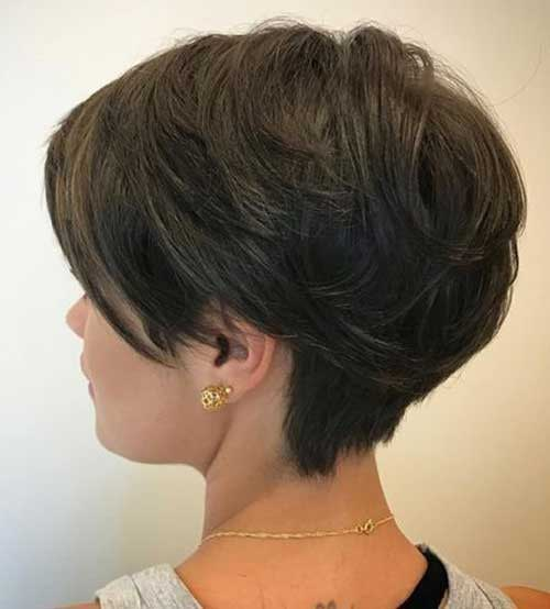 Long Pixie Haircuts for Women with Thick Hair-8