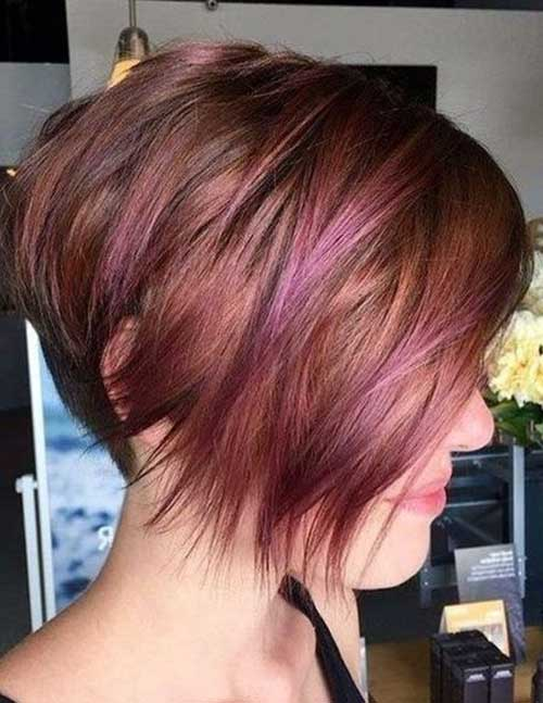 Layered Asymmetrical Long Pixie Cut Hairstyles-9