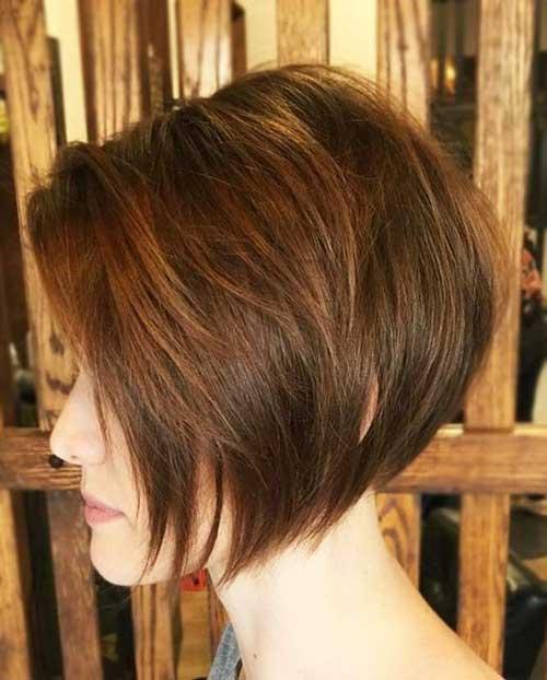Best Short Graduation Haircuts for Thin Hair-9
