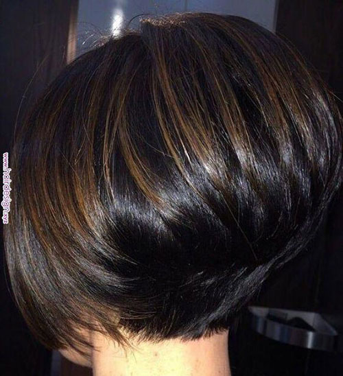 Short Pixie Bob Stacked Hairstyles-9