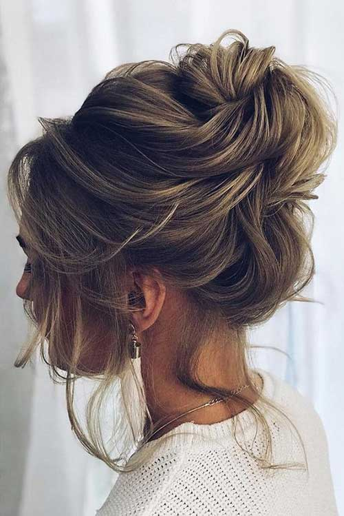 17 Easy Updo Hairstyles for Short Hair  Short Hairstyles \u0026 Haircuts  2018  2019