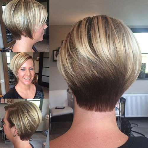 Pictures of Short Stacked Haircuts