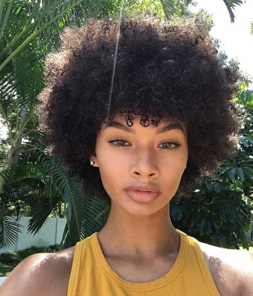 Short Black Natural Hairstyles
