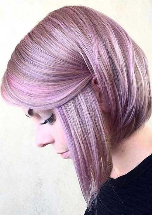 Cute Hairstyles for Short Straight Hair-12
