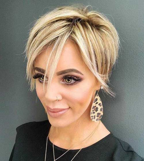 Short Haircuts for Thin Hair-12