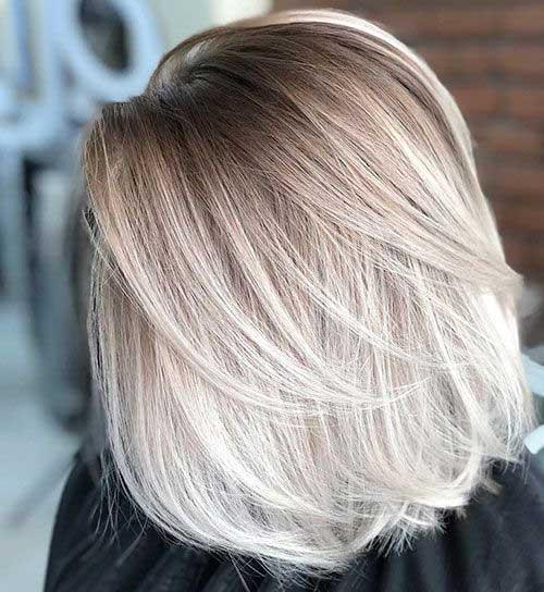 Cute Hairstyles for Short Straight Hair-13