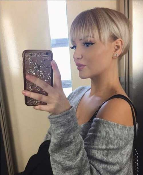 Short Haircuts for Thin Hair-16