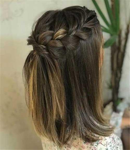 Cute Hairstyles for Short Hair-17
