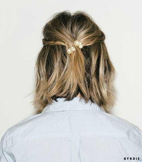 Cute Hairstyles for Short Hair-18