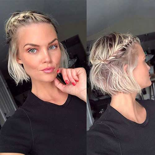 Cute Hairstyles for Short Hair-19