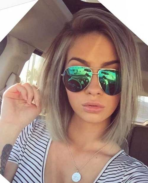 Short Haircuts for Thin Hair-19