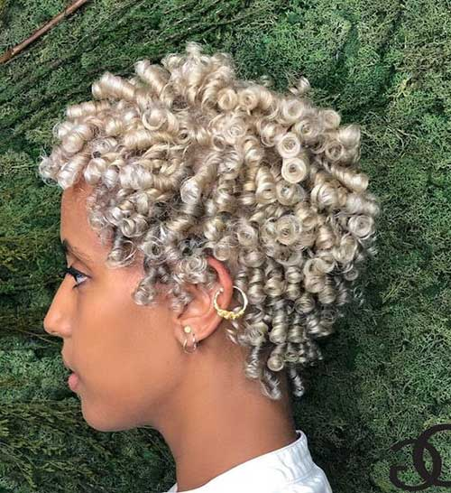 Short Natural Haircuts for Black Women-20