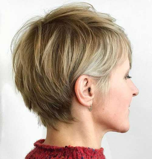 Short Haircuts for Thin Hair-7