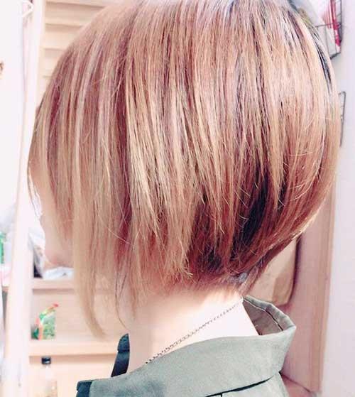 Cute Hairstyles for Short Straight Hair-8