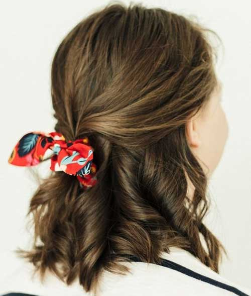 Cute Easy Daily Hairstyles for Short Hair-9