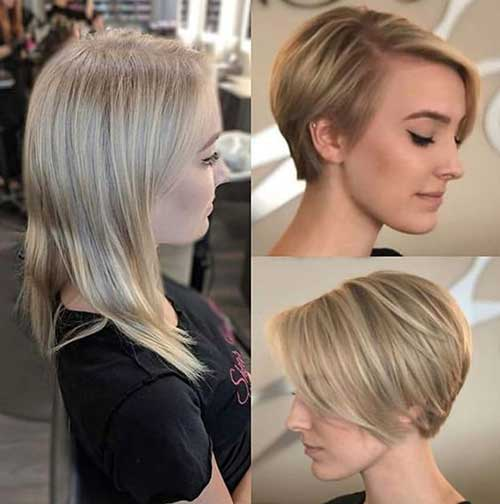 Cute Hairstyles for Short Straight Hair-9