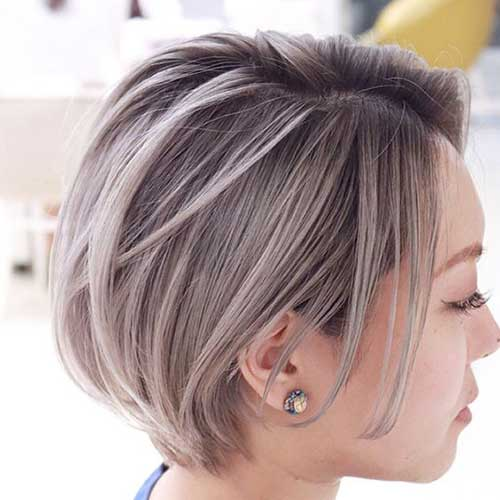 Easy Hairstyle for Short Straight Hair