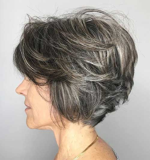 Short Hair Over 50