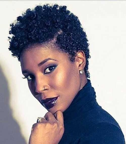 Newest Short Natural Haircuts for Black Women