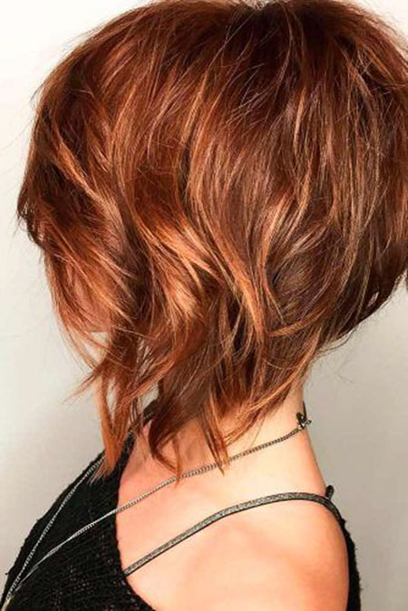 15 Short Layered Hairstyles For Thick Hair Short Hairstyles