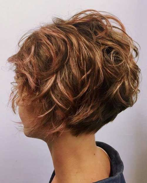 Short Layered Haircuts For Curly Hair