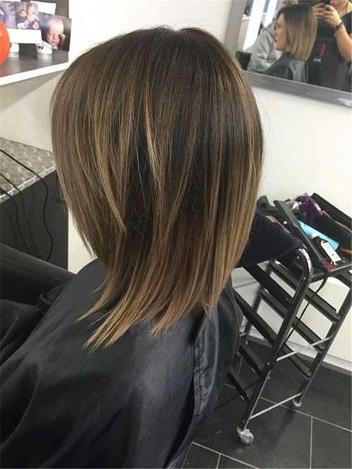 Medium Short Haircuts For Girls