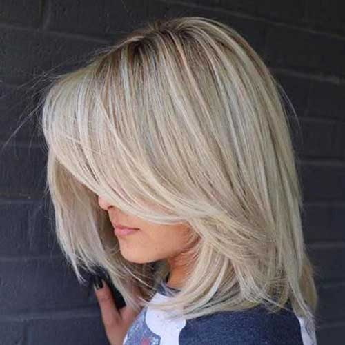 Short And Medium Hairstyles