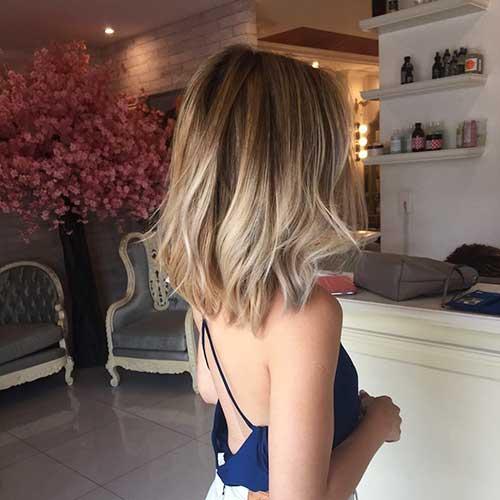 Medium Short Haircuts
